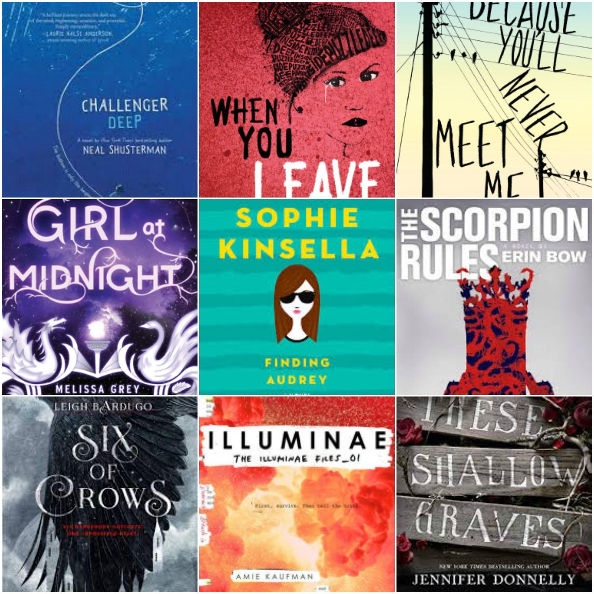 My fav YA books from 2015 (Jan-Oct)