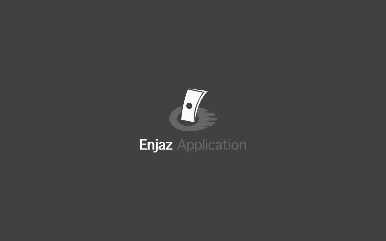 Enjaz Application Logo Design 2014 Logos