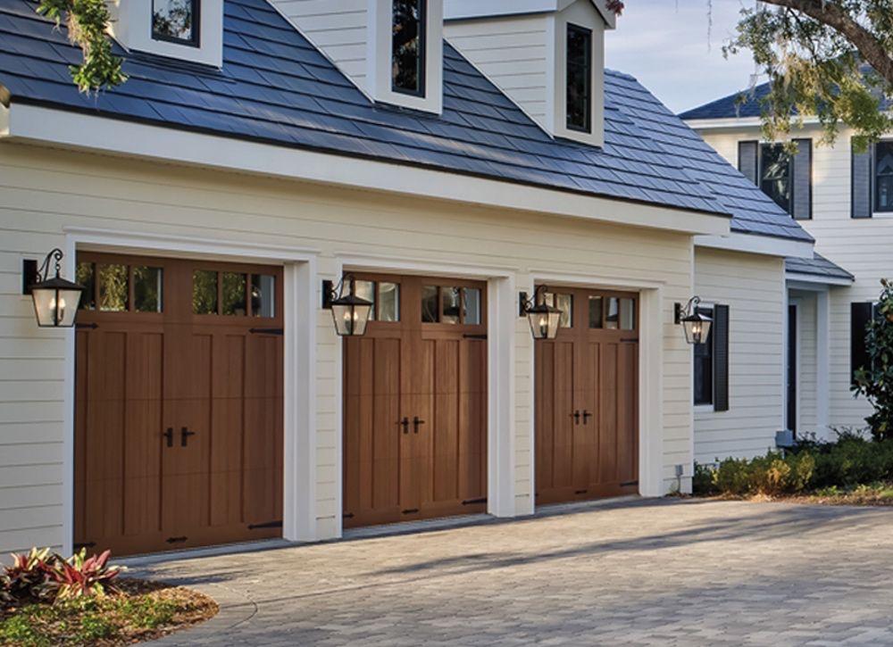Three Car Garage Door