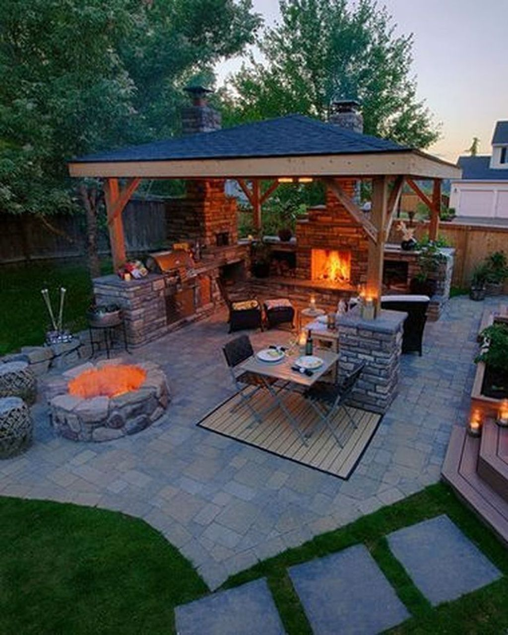 35 Fancy Outdoor Kitchens Design Ideas That You Need To Know In 2020 Backyard Patio Designs Outdoor Kitchen Design Patio Design