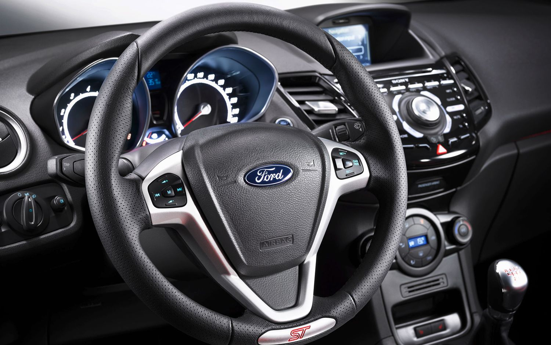 2013 Ford Fiesta St European Spec Steering Wheel Black Sport