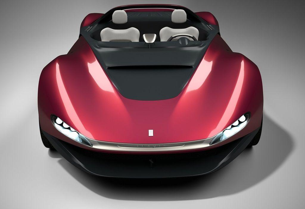 Future Car, Ferrari Sergio Concept, 2013 Geneva Motor Show