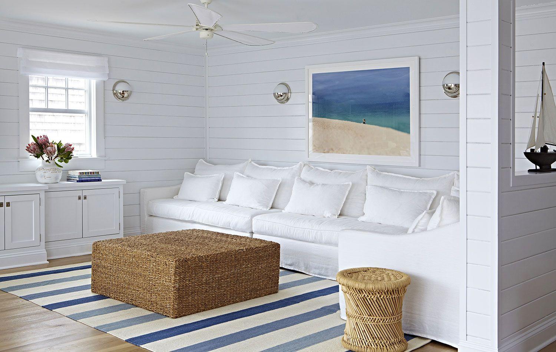 Bay Head Beach Bungalow || All-White Beach Living || Chango & Co ...