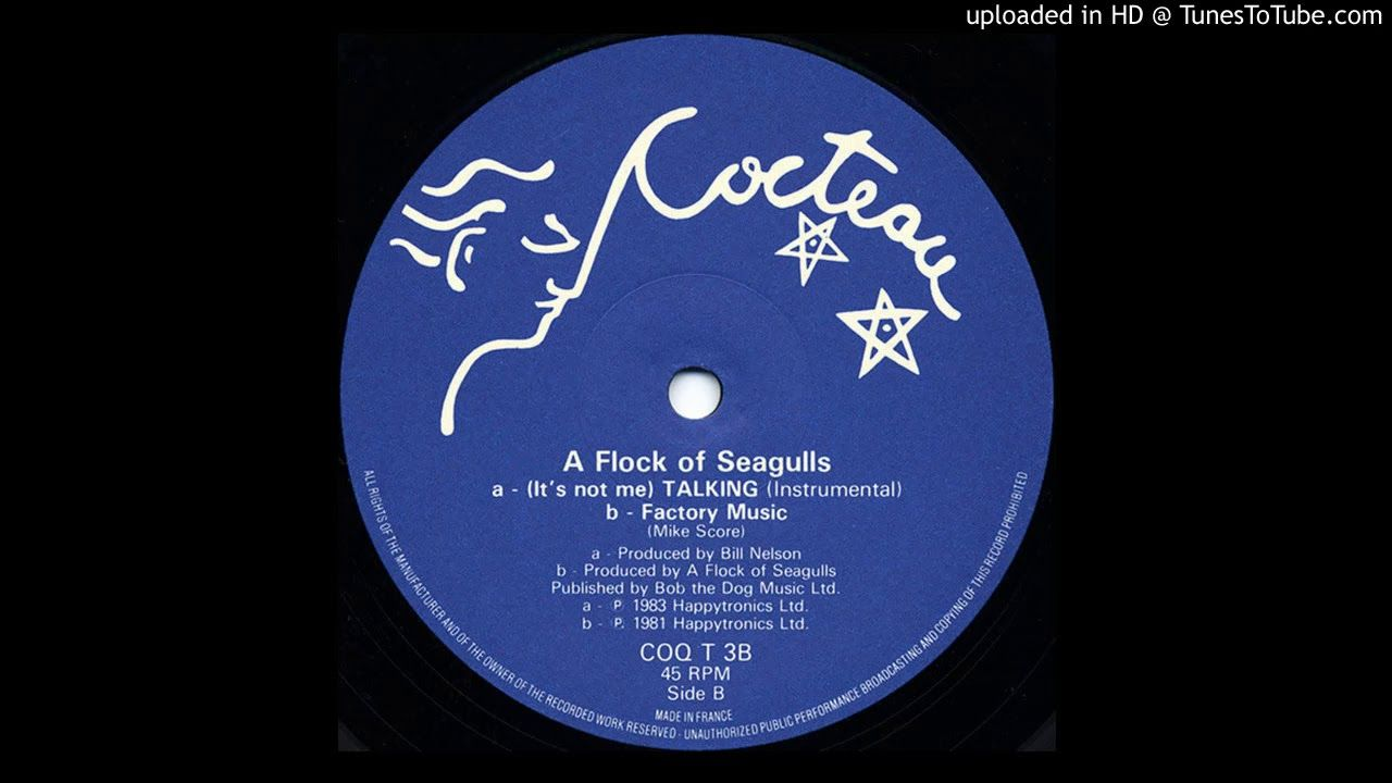 A Flock Of Seagulls Factory Music 1981 B Side It S No Me Talking Flocking Music Seagull