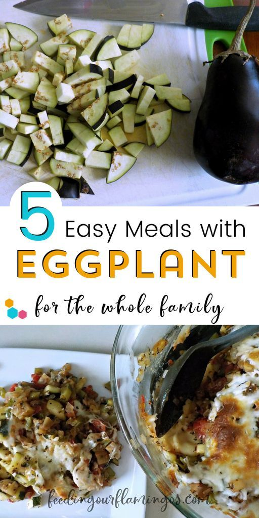 5 Yum Ways to Introduce Eggplant to Your Family's Taste Buds Tired of eating the same old vegetables every single week? Switch it up with this monthly produce challenge and try one new veggie each month. This month we tried eggplant 5 different ways!