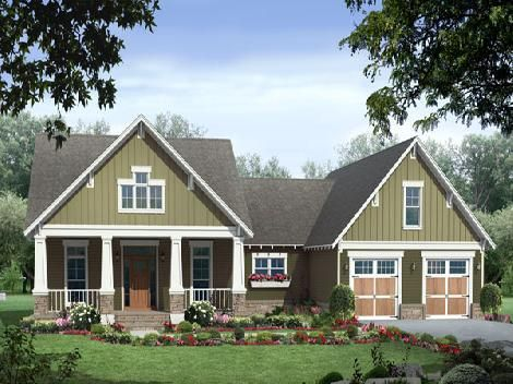 3 bedroom house plan pictures - HPG-2067-1