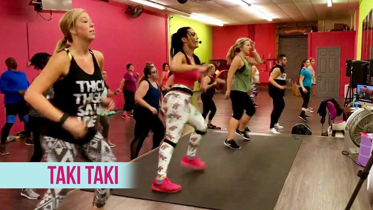 Taki Taki Dance Fitness With Jessica Youtube Dance Workout