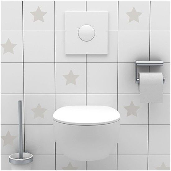 Awesome New Tile Decals Bathroom