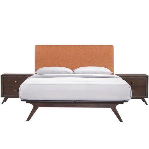 Modesto Platform 3 Piece Bedroom Set | Dormitorios/recámaras, Juegos ...