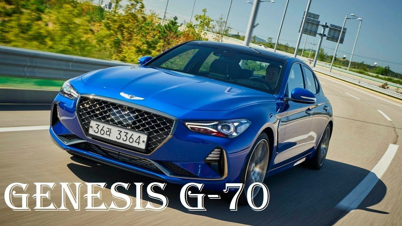 2018 GENESIS G70 Sport Coupe Review Interior, Price