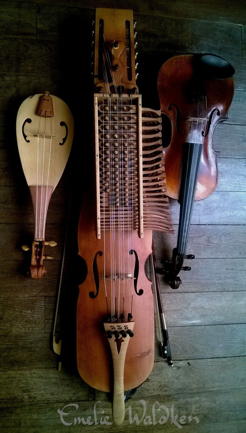 Nyckelharpa Is The Traditional Instrument From Sweden Fiddle Is The Most Common Instrument In Scan Old Musical Instruments Folk Instruments Musical Intruments