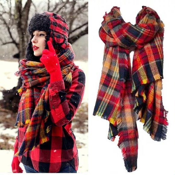 NOW AVAILABLE!!! Colorful Blanket Scarf NOW AVAILABLE!!! I only have 8 of these!  PLEASE DO NOT PURCHASE THIS LISTING! I will create another listing for you! NOT ZARA! Zara Accessories Scarves & Wraps