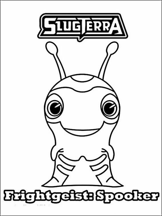 Explore Online Coloring Book And More Slugterra Pages 22