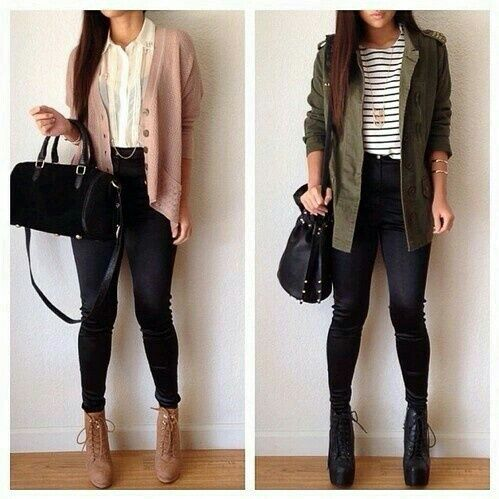 Cute skinny jeans outfits tumblr