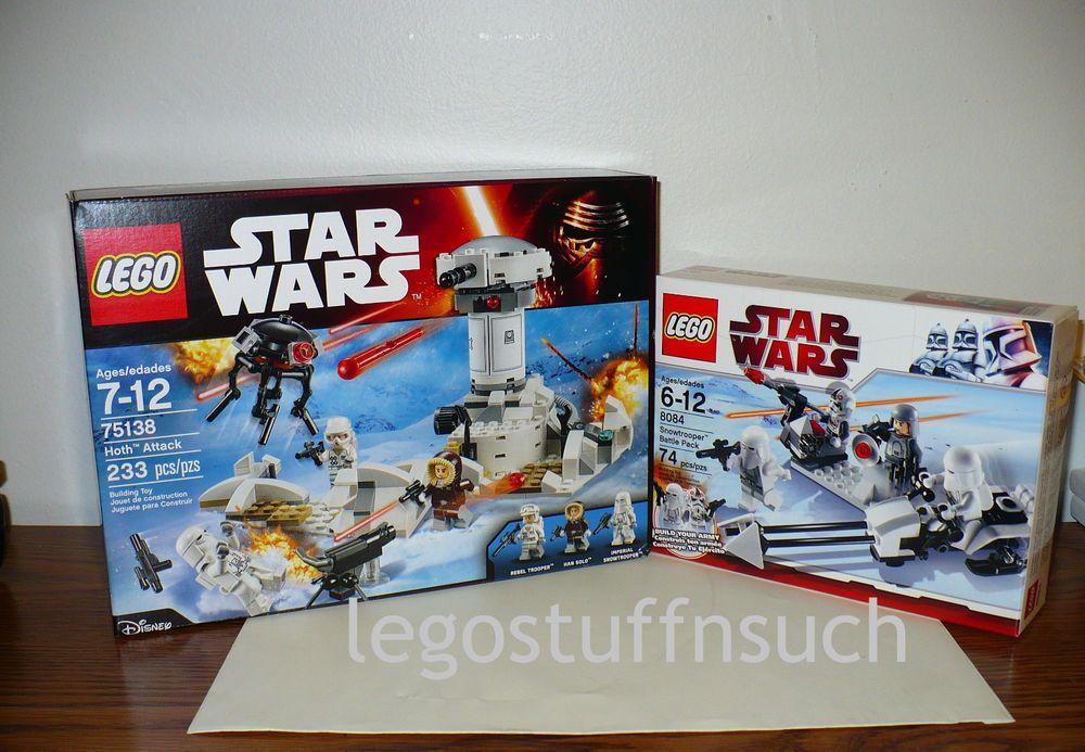 8084 SNOW TROOPER BATTLE PACK lego set NEW star wars legos sealed