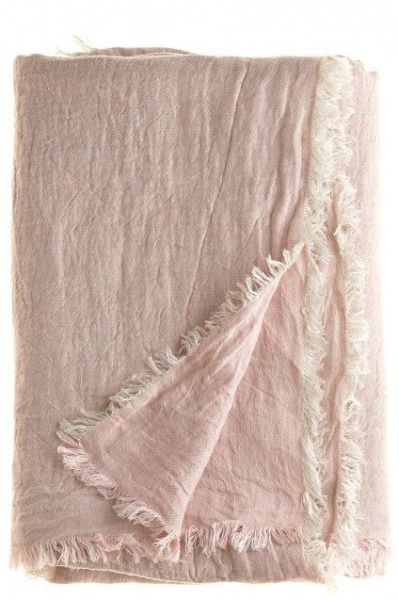Blush Pink Throw Blanket Umla Via Pink And Cozy…  Pink & Blush  Pinterest  Clothing