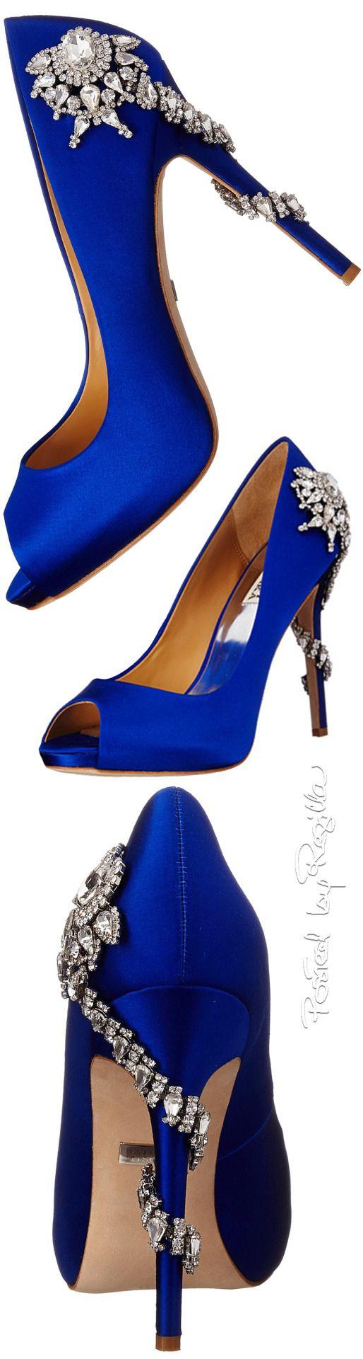 Regilla badgley mischka royal blue pinterest badgley