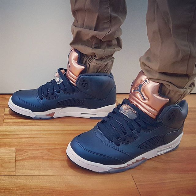 official photos 99cd8 576c8 Go check out my Air Jordan 5 Bronze on feet channel link in ...