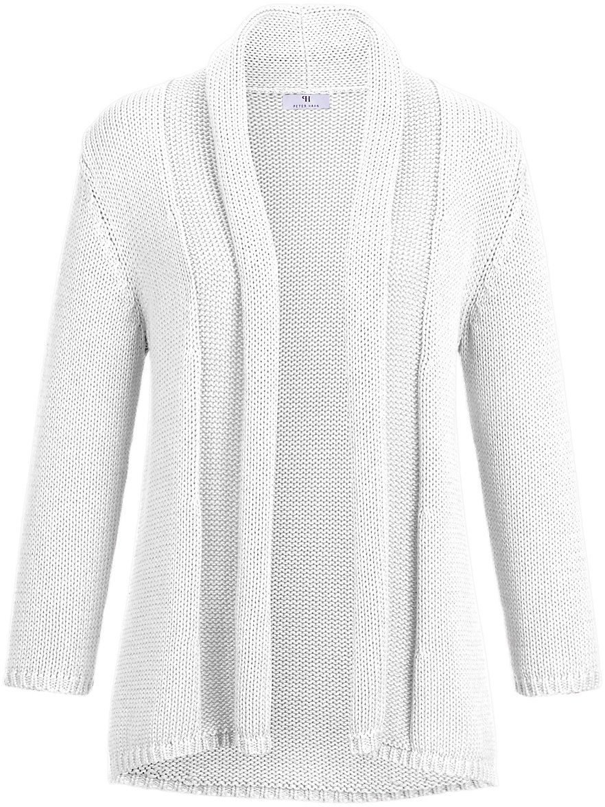 Peter Hahn - Cardigan - white