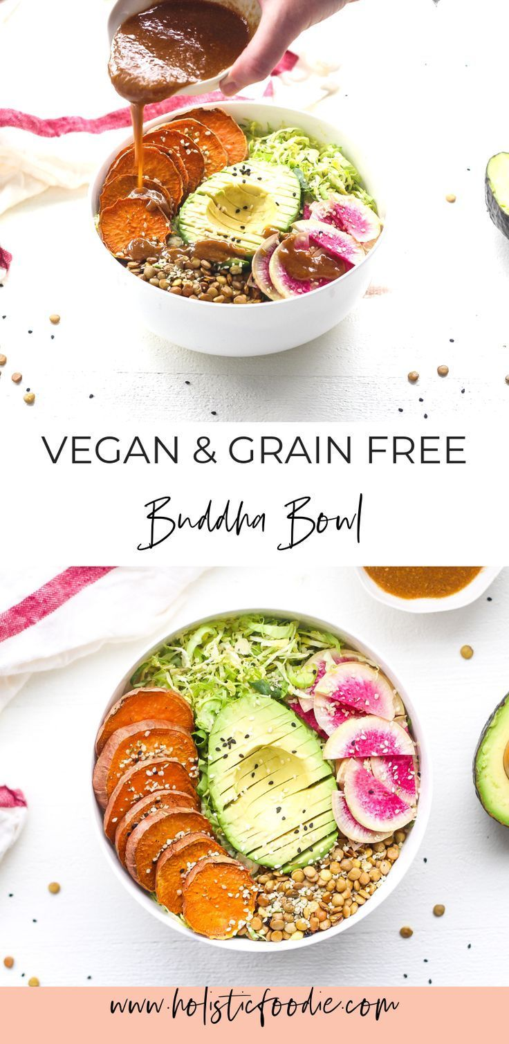 Grain Free Vegan Buddha Bowl