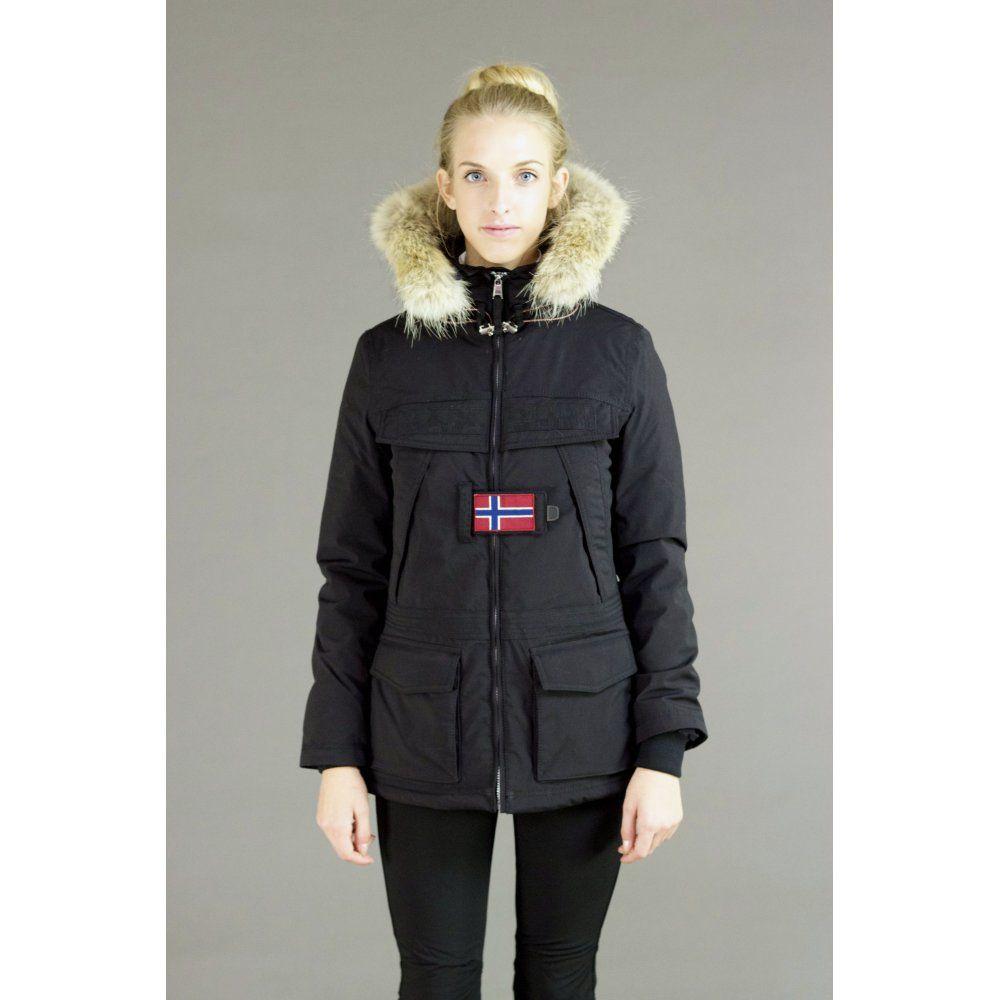 Superbe Napapijri Napapijri Skidoo Open Womens Ski Jacket in Black @MA_42