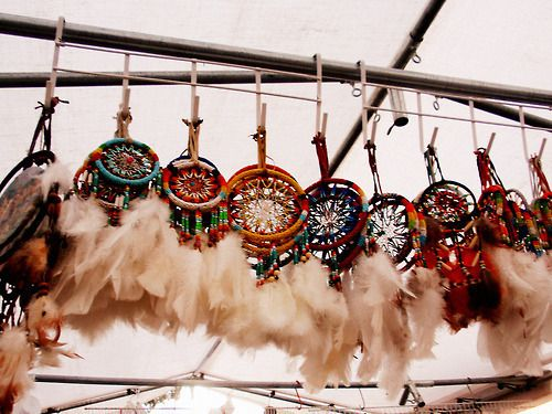 hand-crafted dreamcatchers