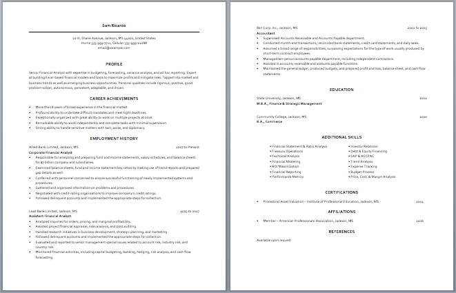 Business Analyst Resume Examples Business Analyst Resume  Resume Examples  Pinterest  Business