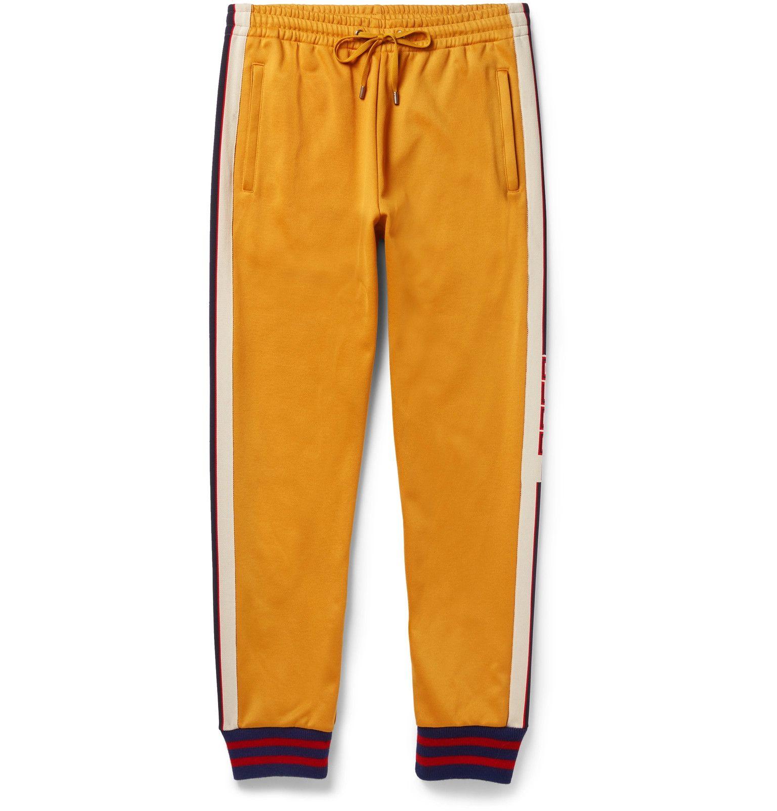 60e332e2421 Gucci - Striped Jersey Sweatpants