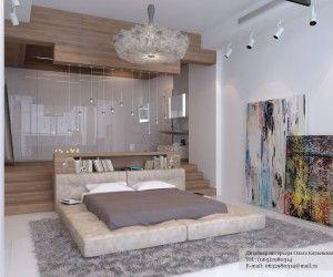Bedroom Designs, Amazing Modern Platform Bed: Amazing Modern Platform Bed