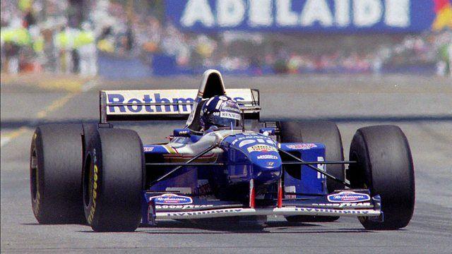 1995 gp australii damon hill williams fw17 renault for Damon racing