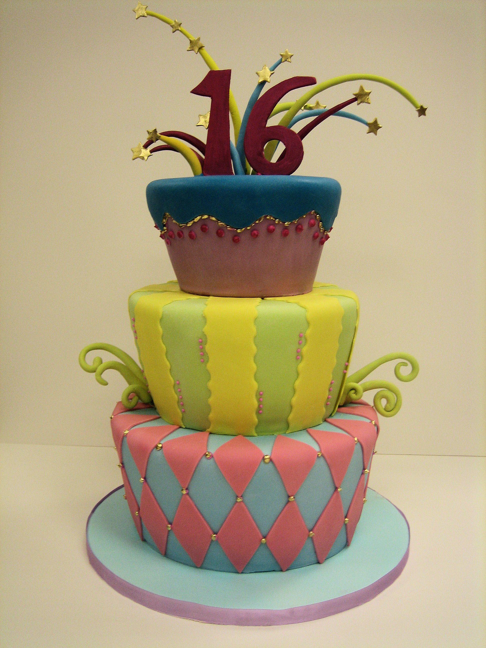 Amy beck cake design chicago il circus celebration