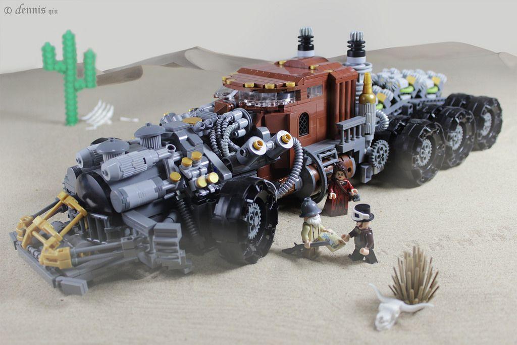 Steam Truck (by dennis qiu)