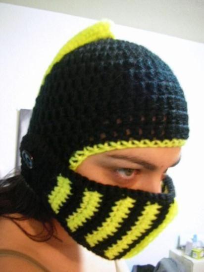 b6622255260a9 Casco Medieval en crochet ¡No te quedes sin él! ... no querrás ...