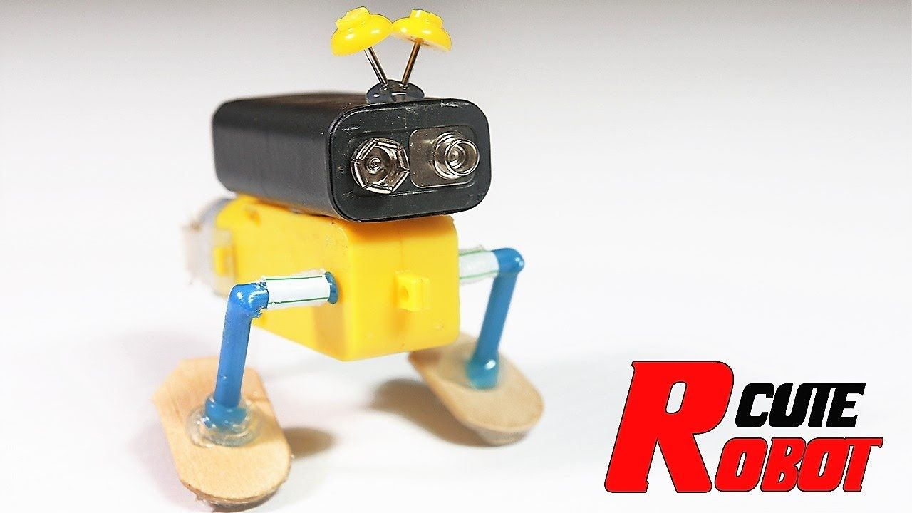 How To Make The Cutest Walking Robot On Youtube Ochoas Cave A Laser Alarm Security Circuit Breadboard Step By