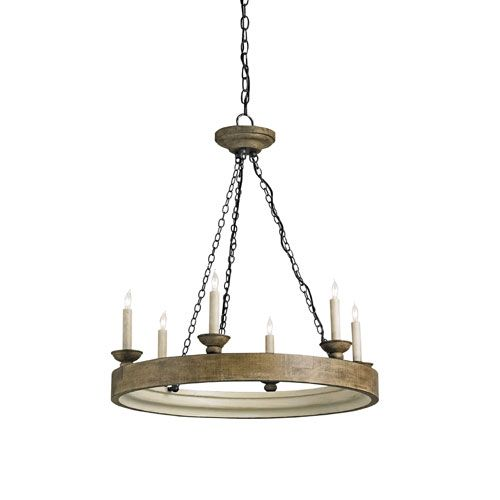 Beachhouse Chandelier Currey Company Candles W/ 6 Or 7 Shades Chandeliers  Ceiling Lighting   One