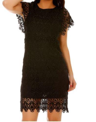 Robe noire dentelle ebay