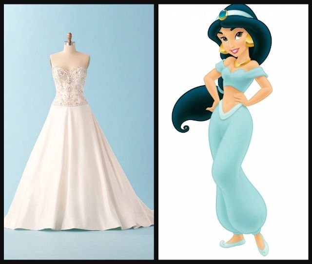 8 Disney Princess Weddings Gowns That Your Inner Eight-Year-Old ...