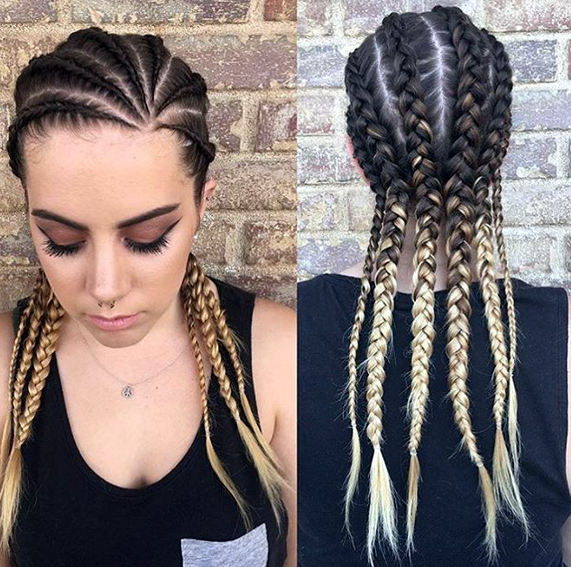 Pin On Cornrow Hairstyles