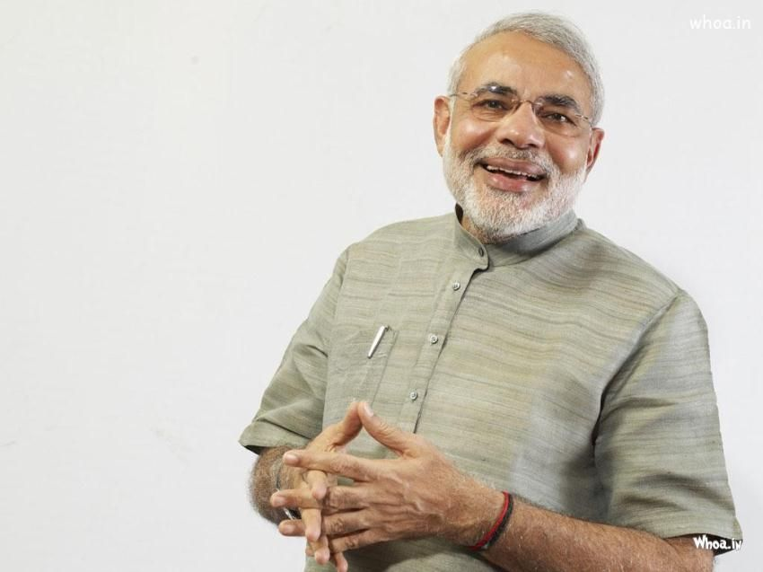 Narendra Modi Smiling Narendra Modi Pm Wallpaper Hd Wallpaper