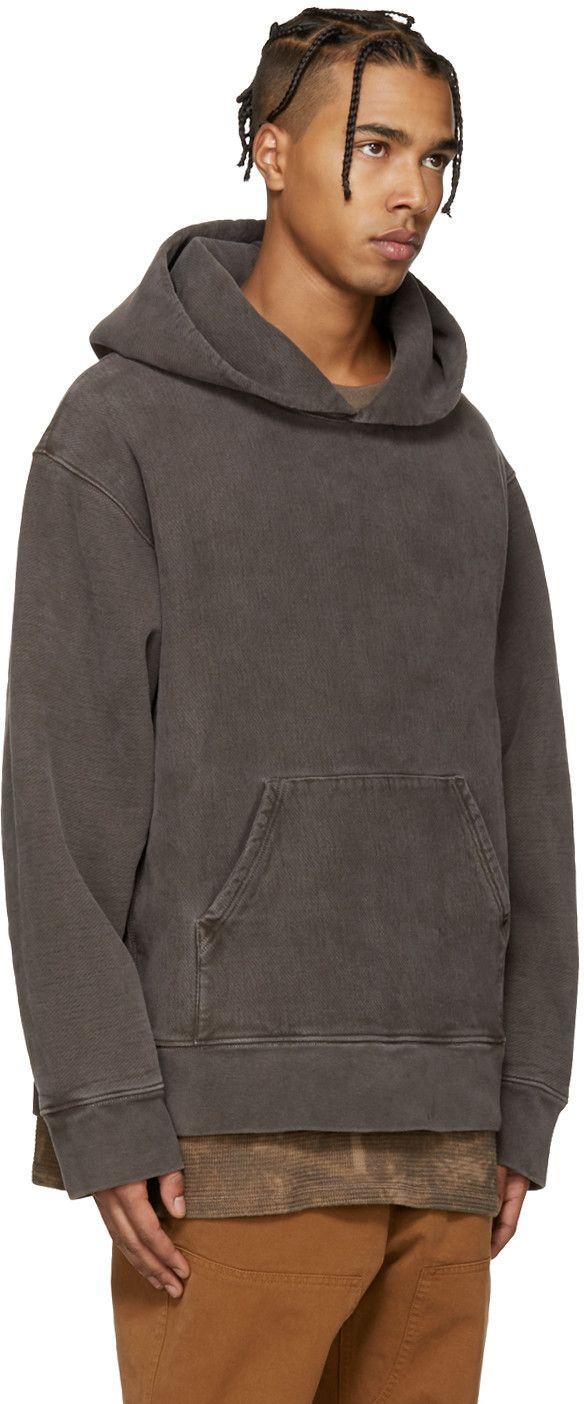 Yeezy Season 3 Brown Fleece Hoodie Yeezy Outfit Yeezy Hoodie Hoodies [ 1404 x 584 Pixel ]