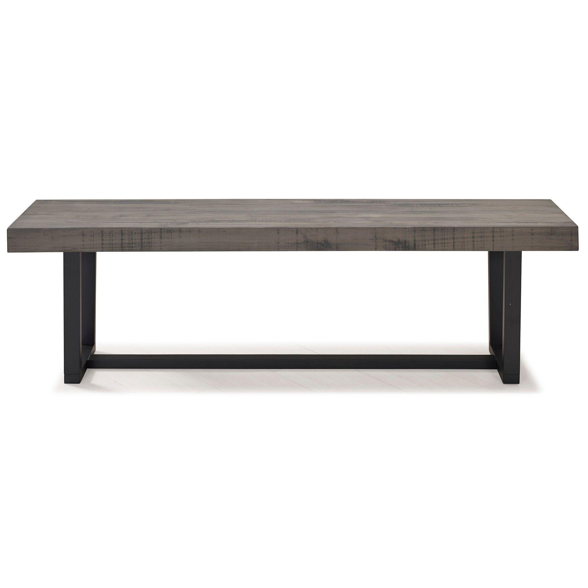 Gray 60 Inch Dining Room Bench In 2020 Dining Bench Seat Dining Room Bench Dining Bench