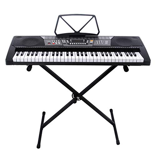 Features 225 Timbres 225 Rhythms Keyboard Percussion 8 Percussion With Music Player Udisk Not Inclu Electric Piano Electric Piano Keyboard Electric Keyboard