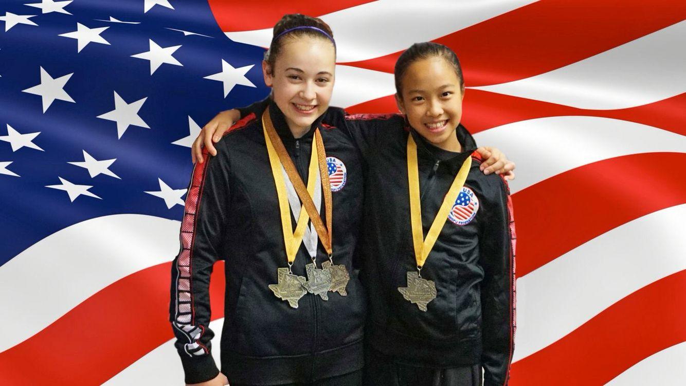 WKFFC students 11th Pan American Wushu Championship