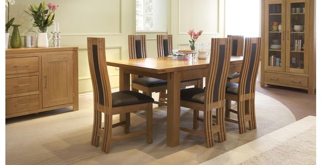 Cavendish Small Extending Table Set Of 4 Chairs American Oak