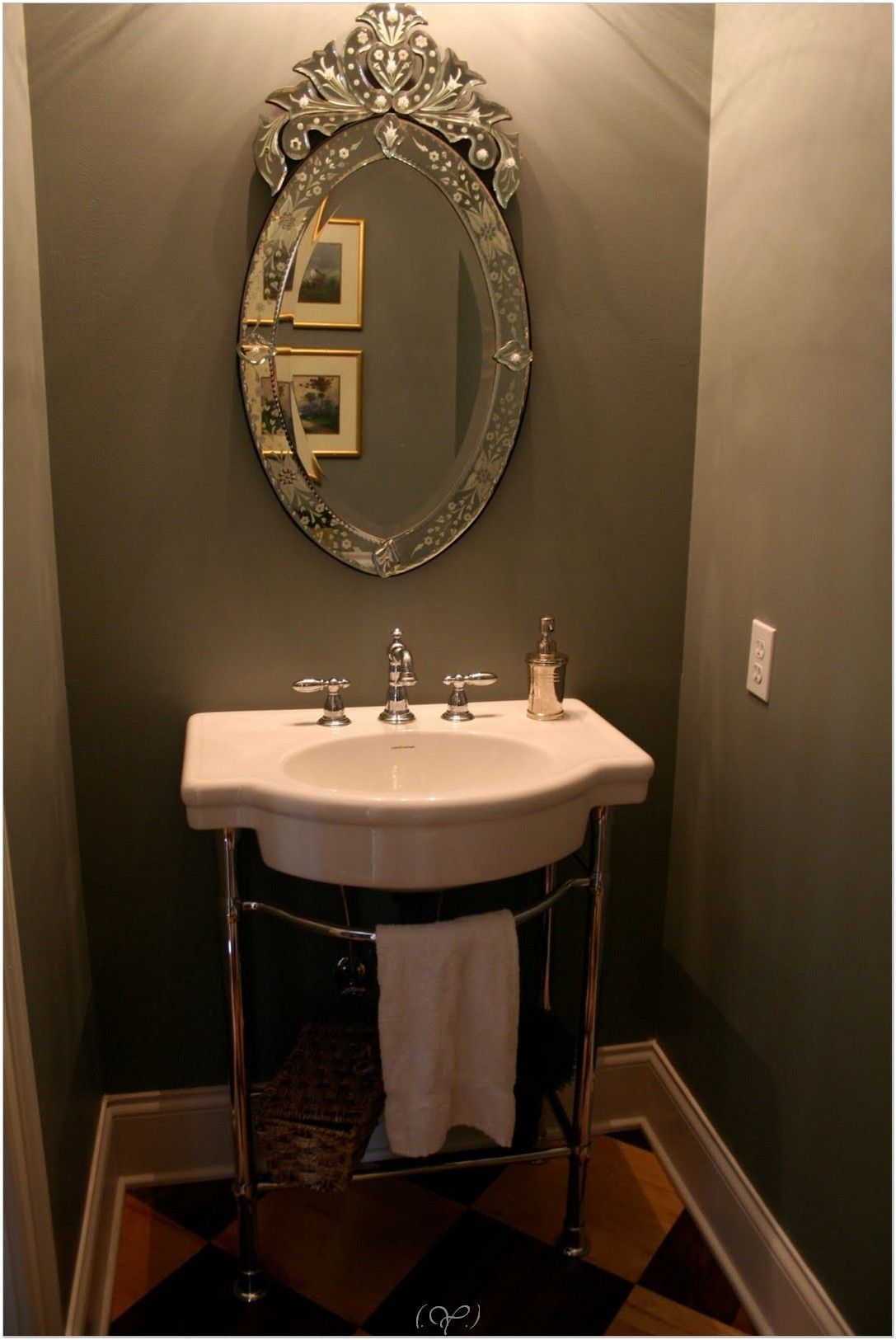 Image On  Half Bathroom Ideas and Design For Upgrade Your House