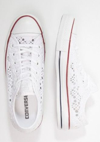 8684814cef64 shoes converse low top chuck taylor broderie anglaise sneakers all stars  white lace