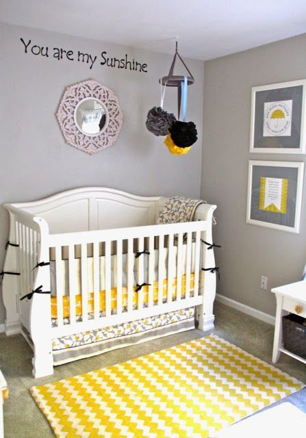 s quot you are my quot nursery yellow baby room on Elle Decor Nursery id=69891