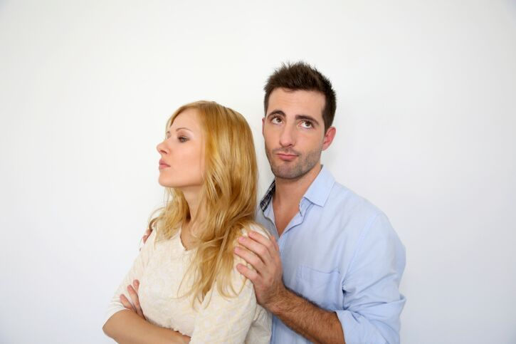 Man losing interest in a relationship