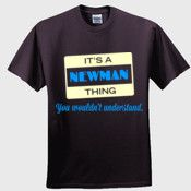 Create your own personalized NEWMAN T Shirt using our online designer. No minimum order.
