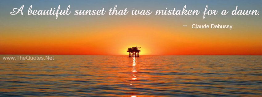 Facebook Cover Image Claude Debussy Quotes. A beautiful